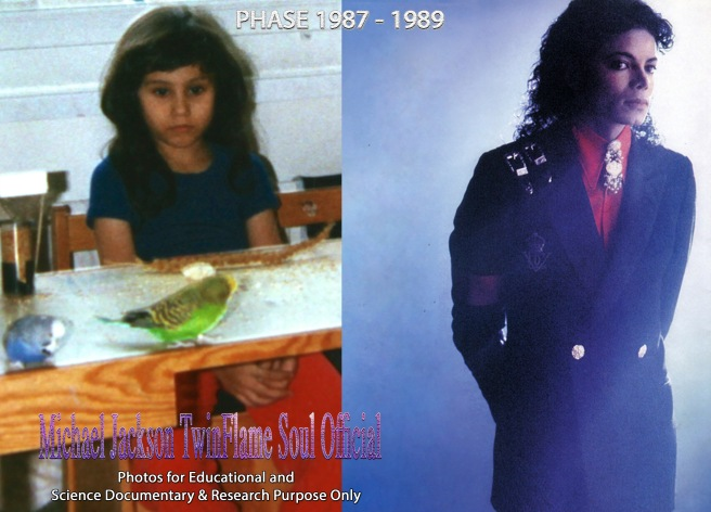 MJ Metamorphosis Story Susan Elsa and Michael Jackson Science Documentation and Education on Twin Flames A New Perspective 9 © ArchangelMichael777