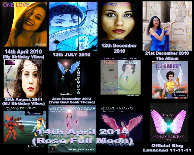 2010 - 2014 Releases: Official Susan Elsa Copyrights and Releases History-Herstory Style and Concepts Brand Individuality Artistry © Susan Elsa - Michael Jackson TwinFlame Soul Official