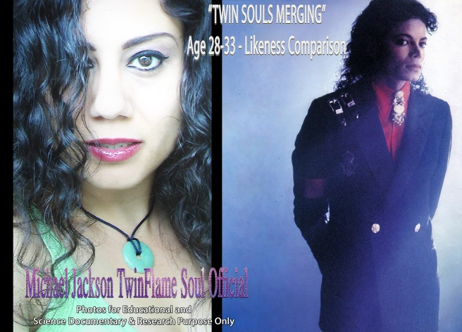 Twin Souls Merging- Comparison Likeness Ages 28-33 © Susan Elsa- Michael Jackson TwinFlame Soul Official