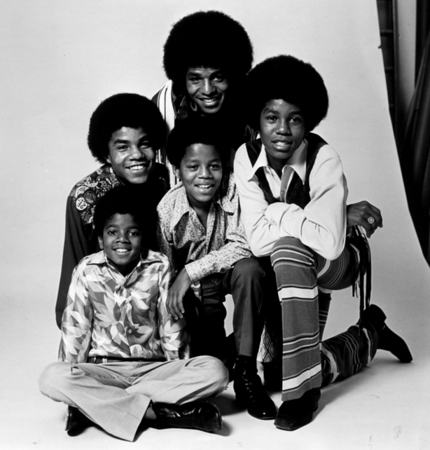 Michael Jackson as a little Boy with his Brothers (Jackson 5) - Photo for educational Purpose