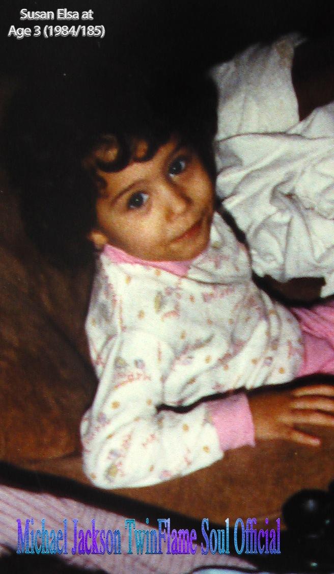 Susan Elsa Age 3 (1984-85) © Michael Jackson TwinFlame Soul Official