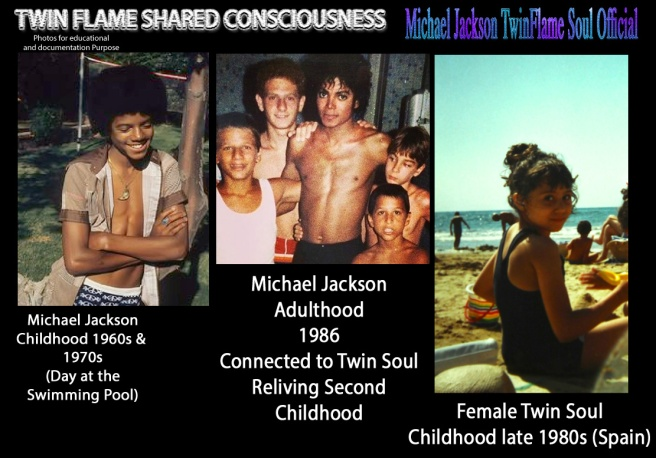 Twin Flame Shared Consciousness- Michael Jackson Childhood Second Time Female Twin Counterpart Little Girl Parallel © Michael Jackson TwinFlame Soul Official Blog Article