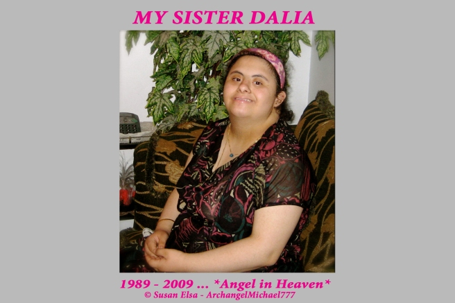 My Sister Dalia - The Child Angel © Susan Elsa - ArchangelMichael777 Official Blog