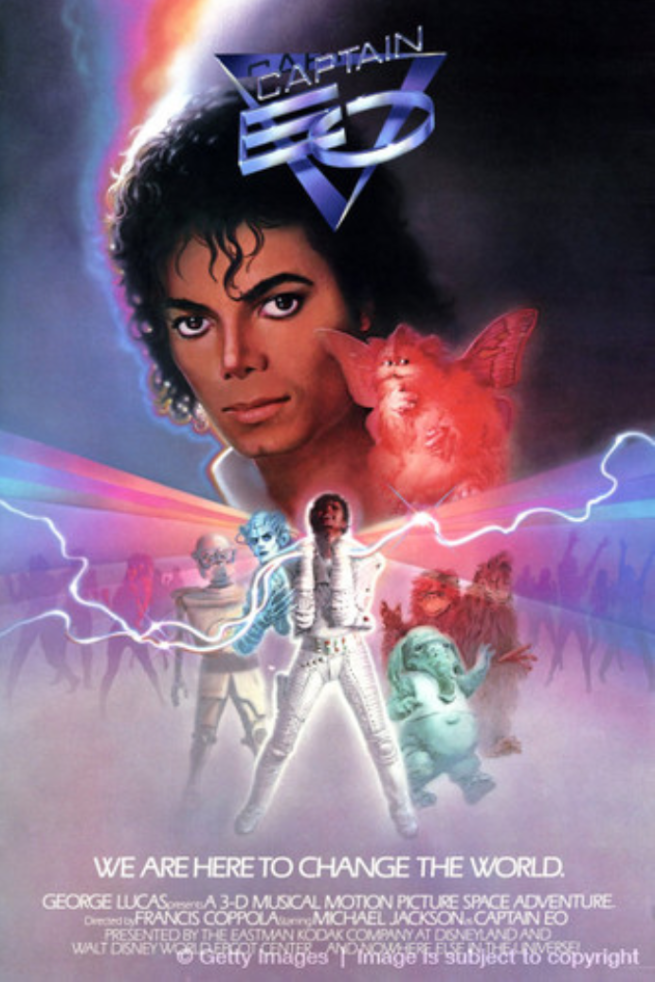 Captain EO with Michael Jackson (3D Movie Disney) - PHOTO FOR EDUCATIONAL PURPOSE - Michael Jackson TwinFlame Soul Official