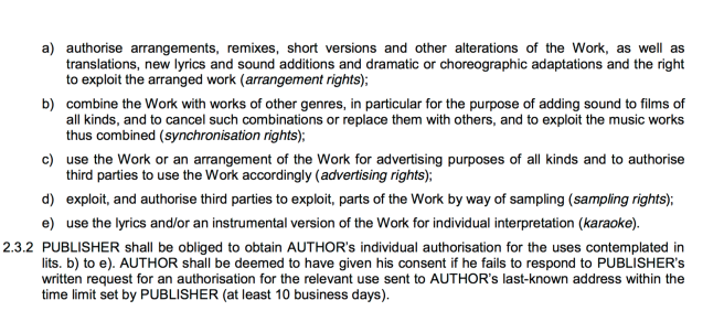 Insights into Music Publishing and Publisher Agreements with Artists/Songwriters - PHOTO FOR EDUCATIONAL PURPOSE provided by MGP Publishing for ArchangelMichael777 Blog Article
