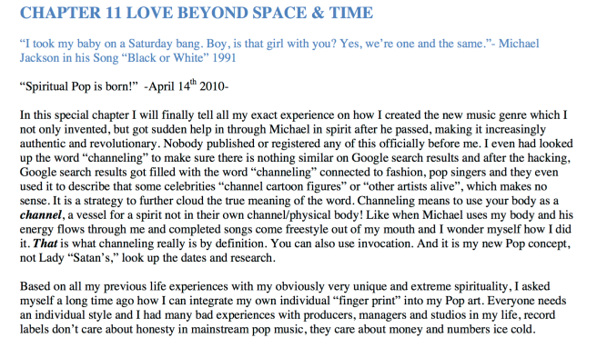 "Susan Elsa Book 2012 ""ARCHANGEL MICHAELS WEDDING"" - Official Excerpts for Special Article © Michael Jackson TwinFlame Soul Official"