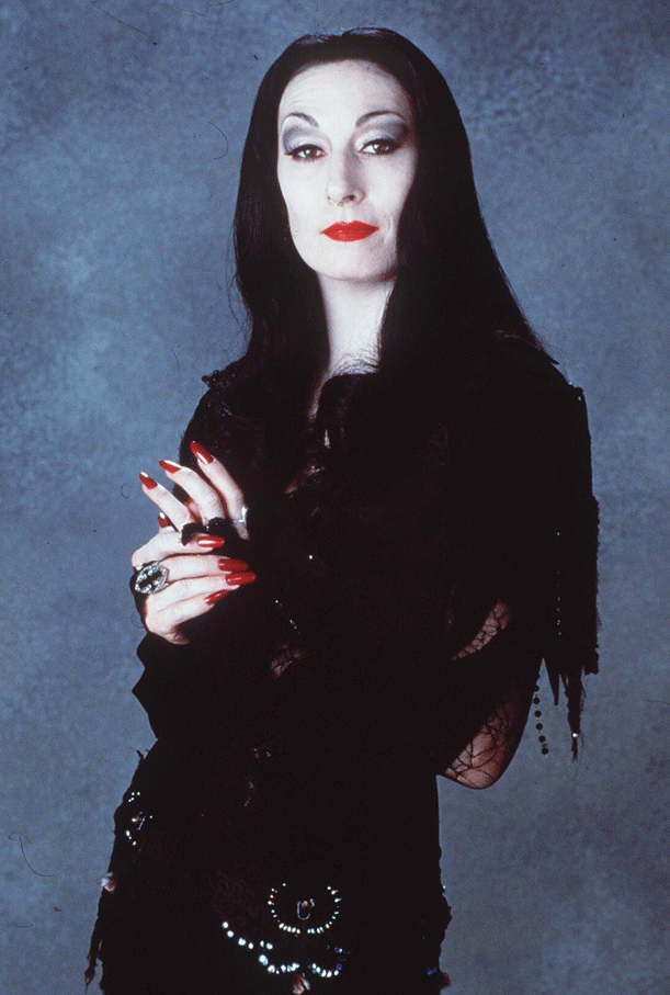 Anjelica Houston as Morticia Addams - PHOTO FOR EDUCATIONAL PURPOSE- Michael Jackson TwinFlame Soul Official