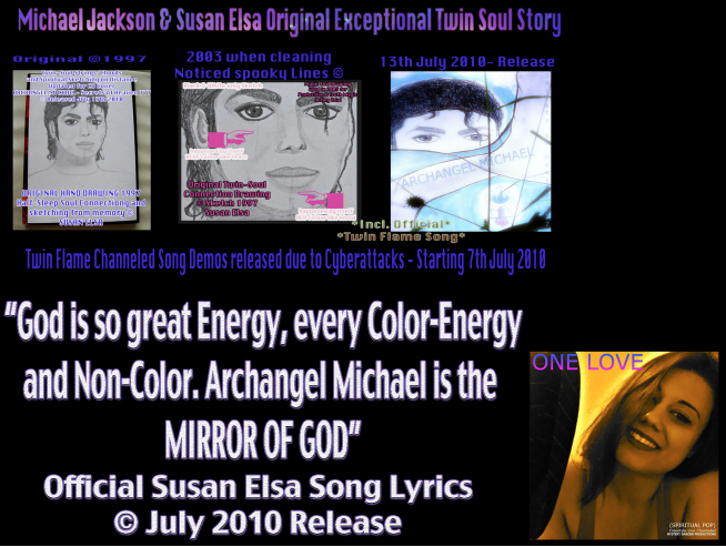 "About ""SPIRITUAL IQ"" and the Evolution Level of Soul *New Definition* © Susan Elsa - Michael Jackson TwinFlame Soul Official"