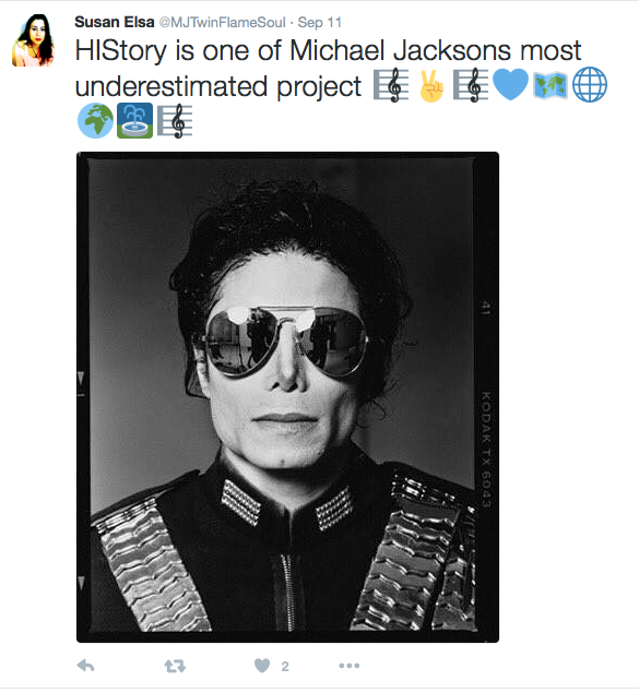 Susan Elsa Original Posts on Twitter - September 2016 © Michael Jackson TwinFlame Soul Official