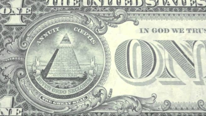 American Dollar Bill Design and Spiritual Meaning and Implications - Osiris Eye above the Pyramid as in SPIRIT - ArchangelMichael777 Blog - A modern & heavenly Blog