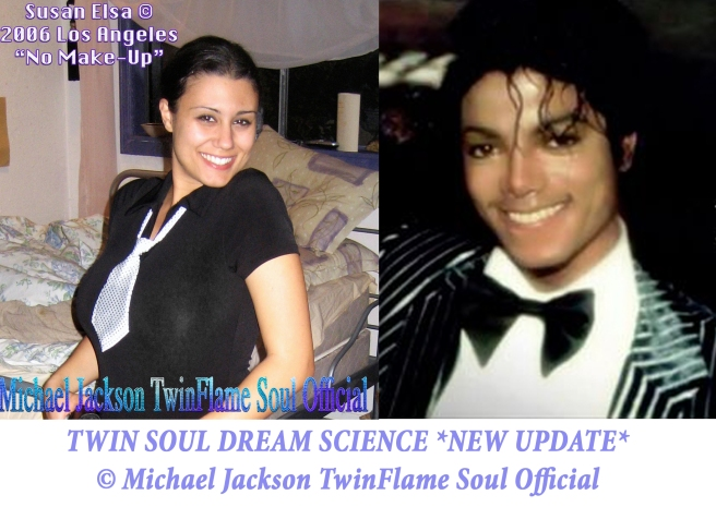 Twin Soul Dream Science Theory *New* © Susan Elsa - Michael Jackson TwinFlame Soul Official