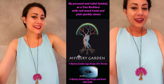Susan Elsa Label MGP Logo and personal Symbol Tree © Mystery Garden Productions Brand and Logo History