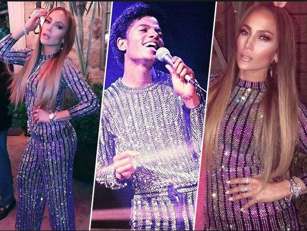 Jennifer Lopez rips of Michael Jacksons old Outfit for own PR attention © ArchangelMichael777 Commentary Article