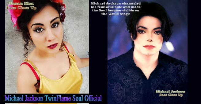 Michael Jackson channeled his own feminine Twin Soul side -Secrets behind the Appearance Mystery © Susan Elsa