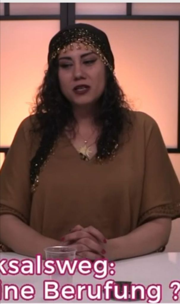 Original Fashion Susan Elsa SHIVA SPIRIT TV 2018-2019 Own Designs of Egyptian Traditional Galabeya