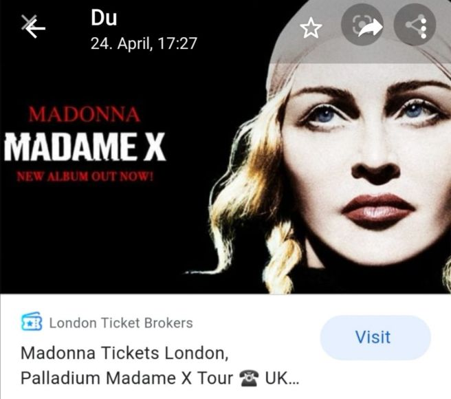Racist Imitation and Stolen Spiritual Information added for Tabloid PR for Madonna recently