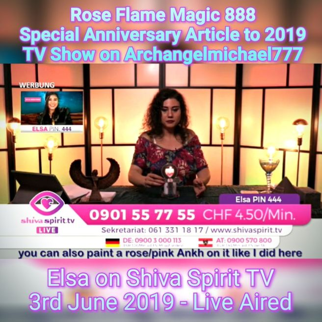 The Rose Flame *ONE LOVE* - 10 Anniversary Message & Susan Elsa TV Show Insights © Michael JacksonTwinFlame Soul - ArchangelMichael777