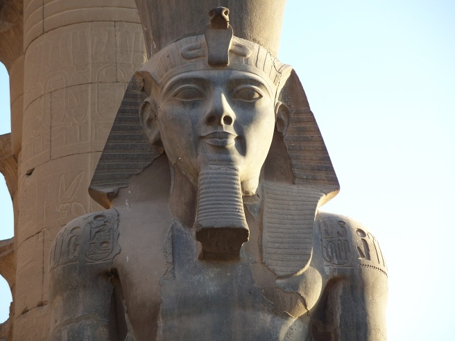 Ancient Egypt Ramesses II Big Temple Statue © Ancient Egyptian Mystery Truth on ArchangelMichael777 Blog