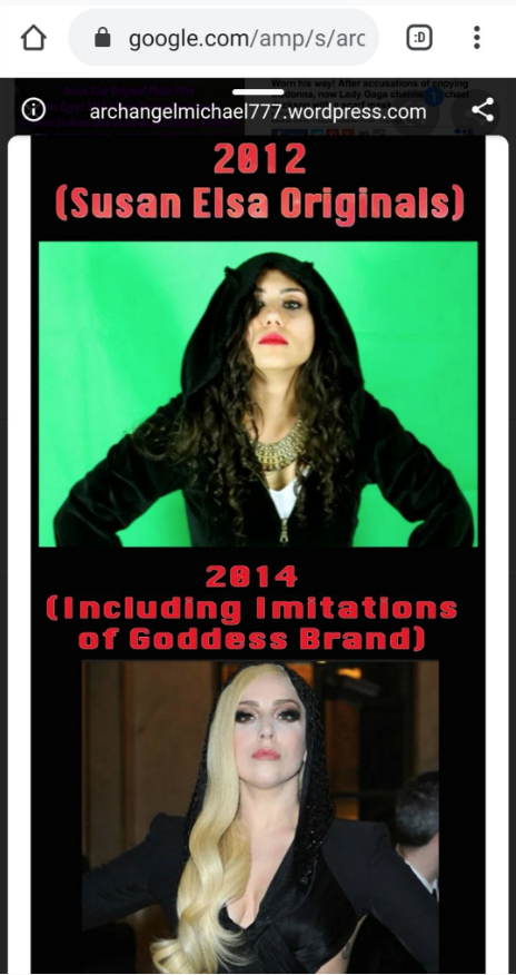 IsIs reincarnated as Susan Elsa stalked and copy-censored by Roman Madonna and Gaga since years - THE BIG RISING OF ANCIENT EGYPT© Michael Jackson TwinFlame Soul Official Susan Elsa