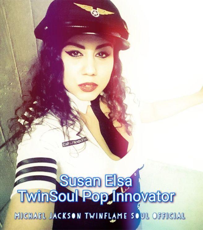 SUSAN ELSA TWINSOUL POP INNOVATOR MICHAEL JACKSON TWINFLAME SOUL OFFICIAL © ArchangelMichael777 & Mystery Garden Productions