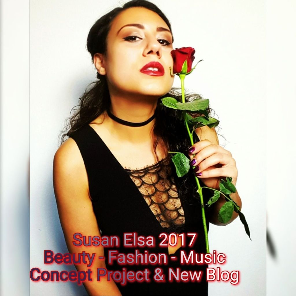 Susan Elsa 2017- Red Rose Red Lips Beauty Biest Style Concept for Beauty Fashion Music Triple Concept - Mystery Garden Productions 2017