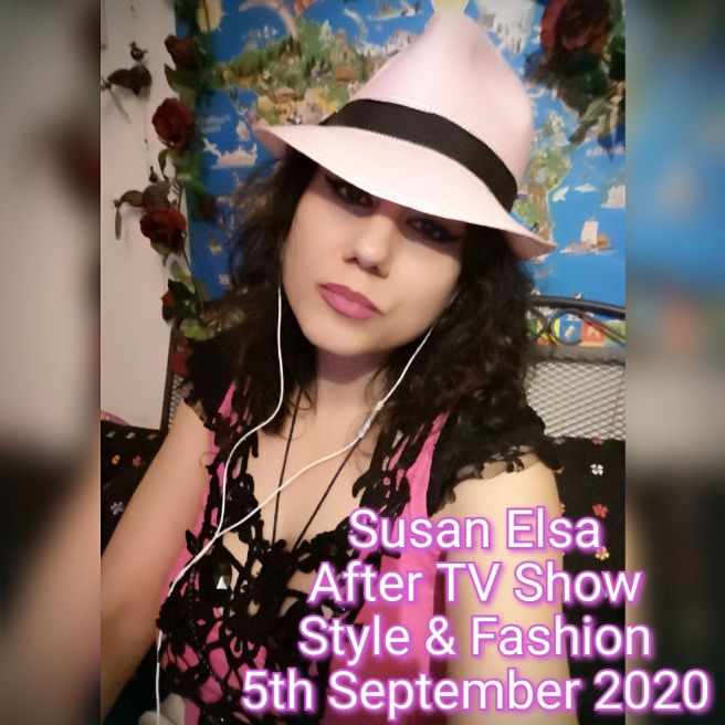 Susan Elsa - Natural Appearance after TV Show 5rd Sept 2020 - Michael Jackson TwinFlame Soul Official